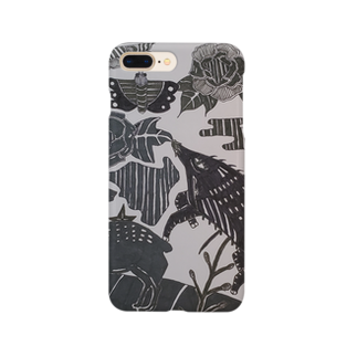 🔥Ryuu🔥絵描き師🔥依頼はDMください😄の猪鹿緒 Smartphone cases