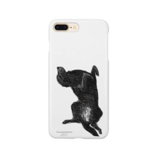 フラットコーテッドレトリバー Smartphone cases