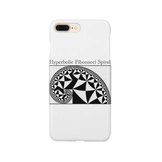 双曲フィボナッチ螺旋 Smartphone cases
