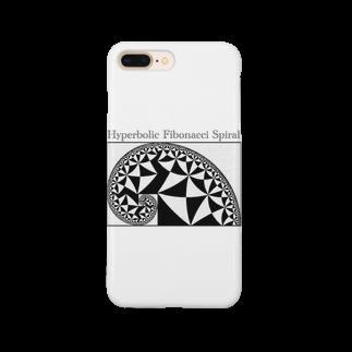 ζWalkerの双曲フィボナッチ螺旋 Smartphone cases