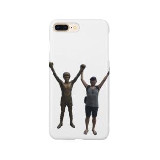 父と具志堅 Smartphone cases