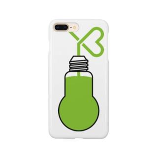 おまつり電球ソーダ・ひとり Smartphone cases