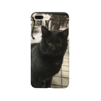 黒の猫 Smartphone cases