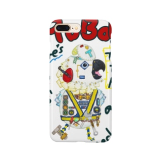 ROBOBO🤖 「たるたるロボ」 Smartphone cases