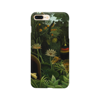 Art Baseの夢 / アンリ・ルソー(The Dream 1910) Smartphone cases