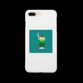 ゆまる。の海のめろんそーだ。 Smartphone cases