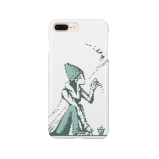 BAD FACTORYの煙女子 Smartphone cases
