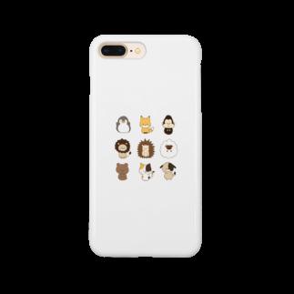 1nariのまるころぷらねっと Smartphone cases
