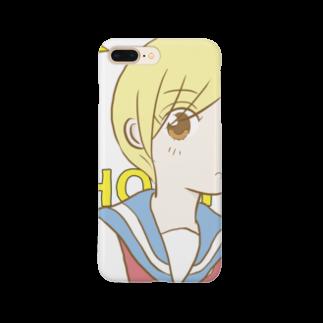 null shopのショートの女の子(コミカル2) Smartphone cases