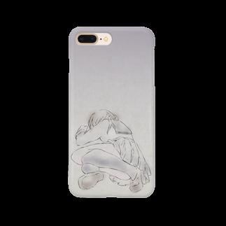 hentouの制服の女の子 Smartphone cases
