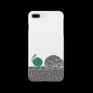 uwotomoの猫と柚子 Smartphone cases