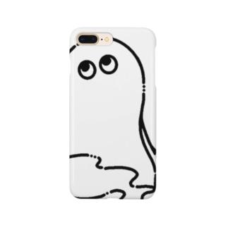 おばけ(黒) Smartphone cases