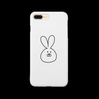 kurupeeeのうさぎ Smartphone cases