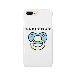 バブちゃん(青) Smartphone cases