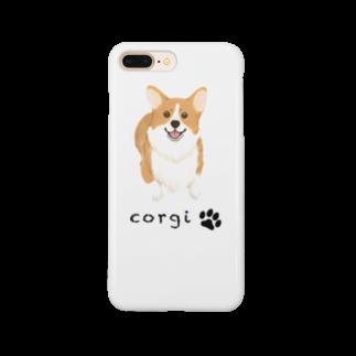 REO★REO★コーギーのコーギースマイル Smartphone cases