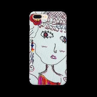 tomo4のビジョ Smartphone cases