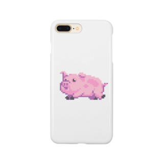 notteのpig Smartphone cases