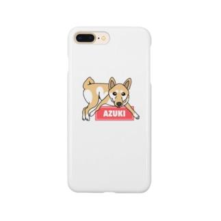 あずきちゃん Smartphone cases