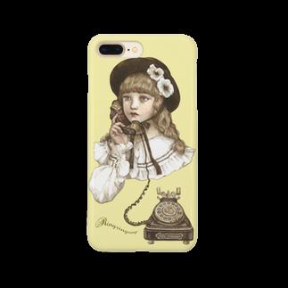 Torii Tsubaki - Shop online [SUZURI店]の電話にでんわ Smartphone cases