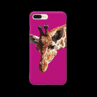 naotobrownのキリン Smartphone cases