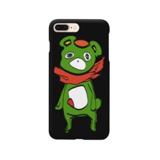 くまざんまいクロ Smartphone cases