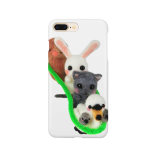 愛猫とひそひそ隊のひそひそ隊電車ごっこ2 Smartphone cases
