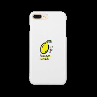 HIKO_kimamani のネオンのレモン Smartphone cases