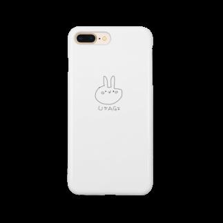 人生オモロ!のうさぎのウサ吉 Smartphone cases