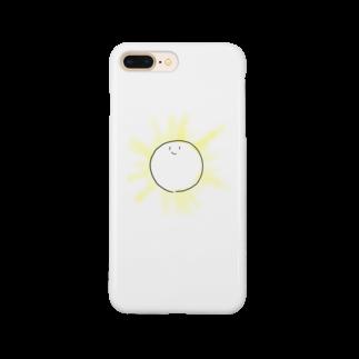 pine_flatsのたいようのようなもの Smartphone cases