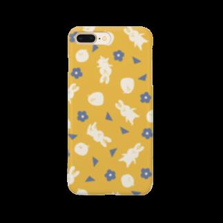 ミラクルユチャンヌのうさぎ Smartphone cases