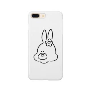 うさぎ(おんなのこ) Smartphone cases
