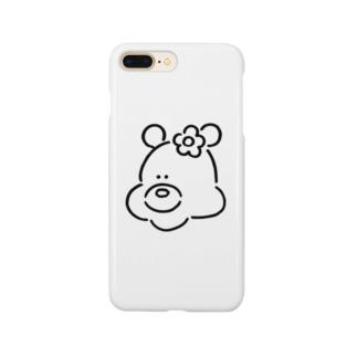 くま(おんなのこ) Smartphone cases