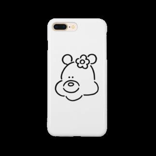 ミックスジュース。のくま(おんなのこ) Smartphone cases