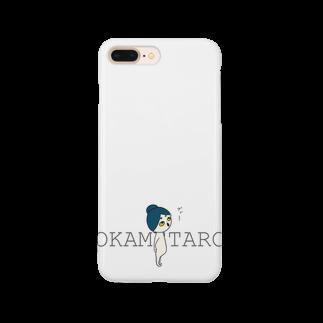 おかめ太郎のOKAMETARO Smartphone cases