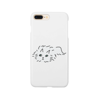 kojiのふわふわのネコ Smartphone cases