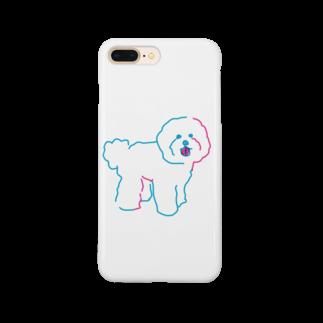 kojiのカラフルビションフリーゼ Smartphone cases