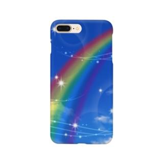 幸運の虹 Smartphone cases