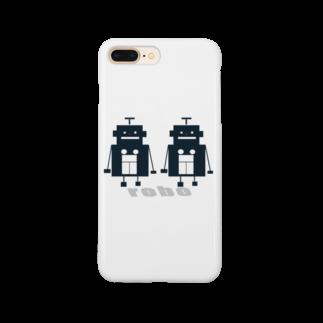 mashibuchiのくろロボットコンビ Smartphone cases