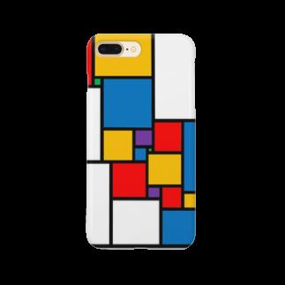ζWalkerの正方形分割 Smartphone cases