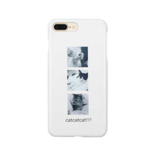 Ohaka。のcatcatcat!!! Smartphone cases
