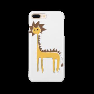 フクダナゴの長いライオン Smartphone cases