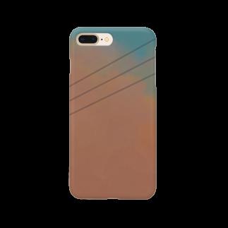 neko_3913の夕雲 Smartphone cases