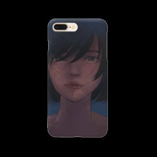 neko_3913の儚 Smartphone cases