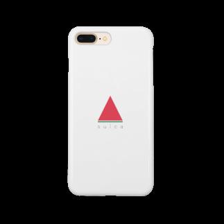 zmoonの赤いスイカ Smartphone cases