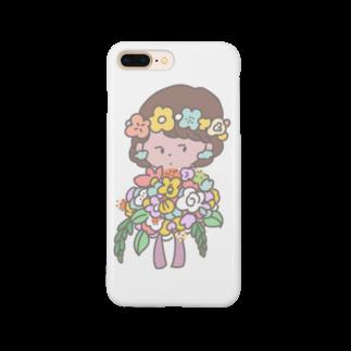 shishishi613の花の子スマホケース Smartphone cases