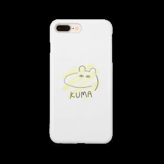 佐倉涼のKUMA(Yellow Ver.) Smartphone cases