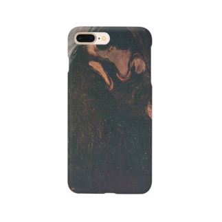 Art Baseのムンク / キス / The Kiss / Edvard Munch / 1897 Smartphone cases