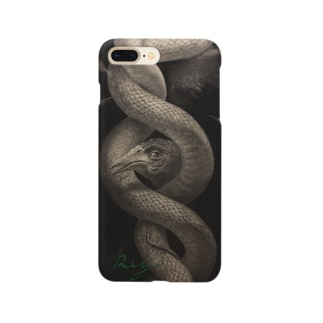 REY 絵画シリーズ 蛇 Smartphone cases