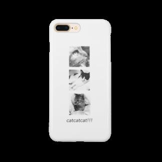 Ohaka。のcatcatcat‼︎‼︎ Smartphone cases