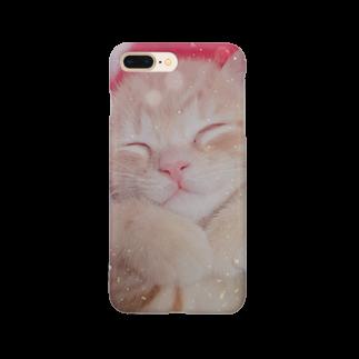 kikumaru2のすやすや茶トラ Smartphone cases